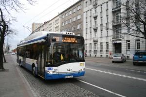 Trolejbus na ulicach Gdyni
